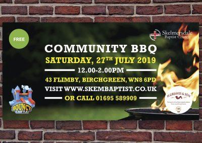 SBC Community BBQ Banner