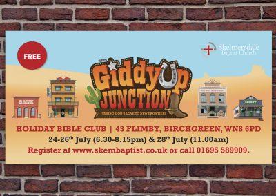 SBC Holiday Bible Club banner